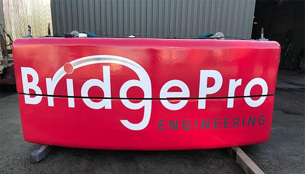 BridgePro Engineering Vehicle Signage