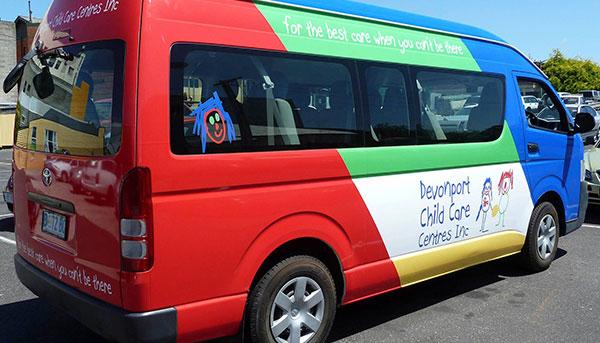 Devonport Child Care Centre Inc. Van Wrap